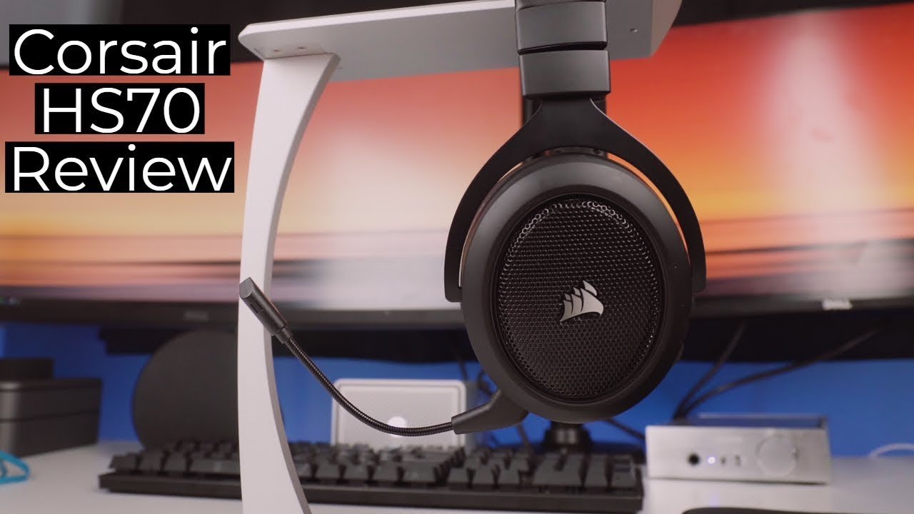 Corsair HS70 Review! Best Wireless Gaming Headset 2018