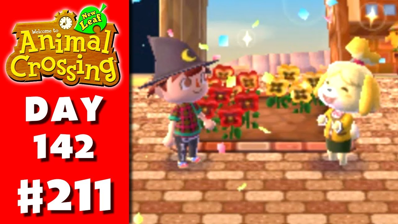 Animal Crossing New Leaf Part 211 Flower Bed Nintendo 3ds