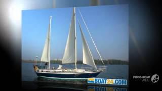 Bruce roberts mauritius kutter-ketch sailing boat, sailing yacht year - 1985
