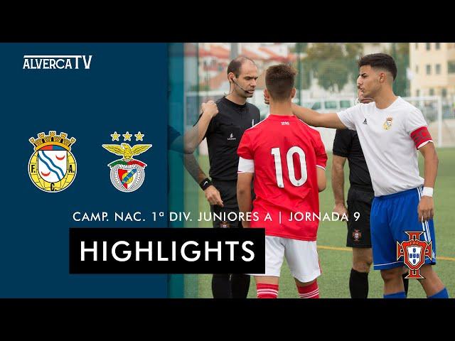 FC Alverca 1-3 SL Benfica | Highlights