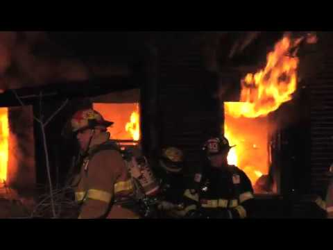 Fully Involved House Fire, Moore Twp. PA  03/18/18
