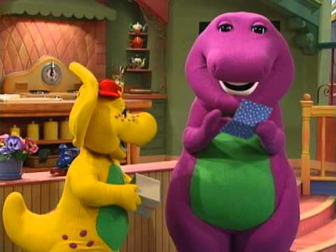 Barney Dino Dancing Tunes Clip Youtube