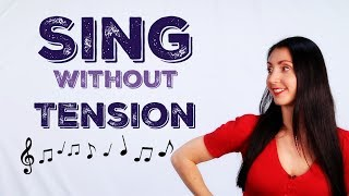 Singing Exercises for TENSION RELEASE / How to Sing without Tension (Verba Vocal)