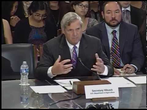 Agriculture Committee conducts USDA oversight