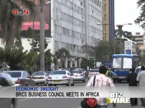 BRICS Business Council meets in Africa - Biz Wire - August 22,2013 - BONTV China