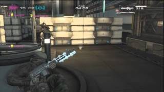 Binary Domain, Team Deathmatch: DLC map - Outside High Rise, Upper City; (Round 1)