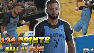 NBA 2K19 | HOW TO REP UP FAST on HALL OF FAME! SCORING OVER 100+ POINTS in MyCAREER (EP. 4)