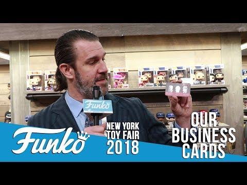 Toy Fair New York 2018: Business Cards!