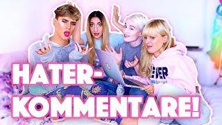 HATER KOMMENTARE KOMMENTIEREN! mit Eda Vendetta, Coopa & Fräulein Minzbonbon | Marvyn Macnificent
