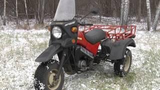 тест-драйв Тула ТМЗ-5.971 Трицикл