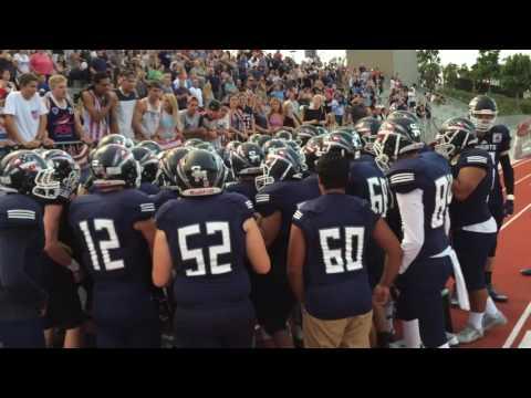 San Marcos Knights Football vs. Escondido (Week 3 - 2015)