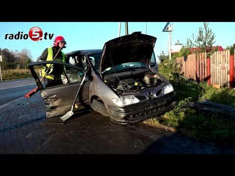 Wypadek w miejscowośc Krzywe | Radio 5
