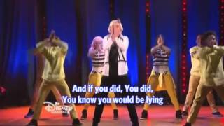 jump back kiss yourself austin ally lyric