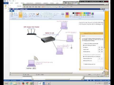 Install Peer-to-peer/Workgroup network (XP, Win7, Win8, Win10...) - PART 1