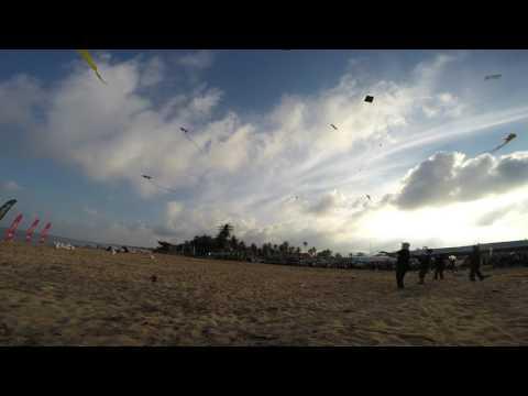 Hyper Kite Siamese Cats Kite Team @ Suratthani Kite Festival 04/02/2017