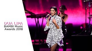 Dua Lipa - Medley - Bambi Awards 2018