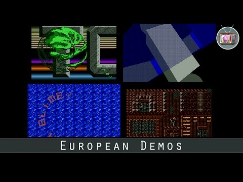 European Demos by Overlanders, 1991 | Atari ST | 720p/50fps
