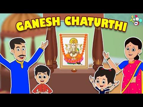 Ganesh Chaturthi | Ganpatti Bappa | Animated Stories | English Cartoon | Moral Stories | PunToon
