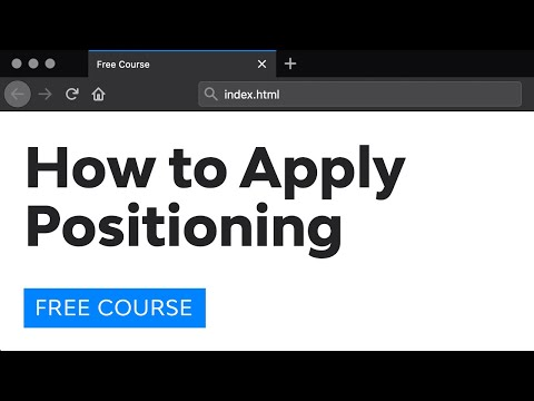 Day 20: Relative and Absolute Positioning (30 Days to Learn HTML & CSS)