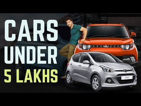 Top cars in india 2016 below 5 lakhs