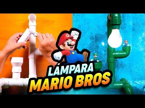 Cómo hacer tus propias lámparas de Mario Bros