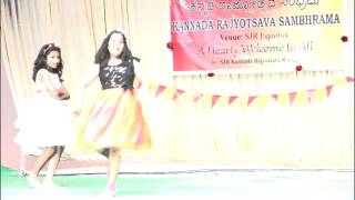 Thithili kannada song - Dance performance by Neha and Mihira