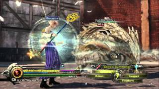 Lightning Returns: FF-XIII - Gurangatch (Armodillo) Battle Cloud & Yuna Garbs Organic Carapace Drop