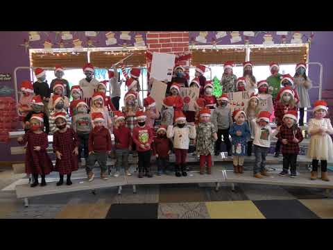Tiny Tykes Academy Christmas Show 2020- 4th Song Must Be Santa