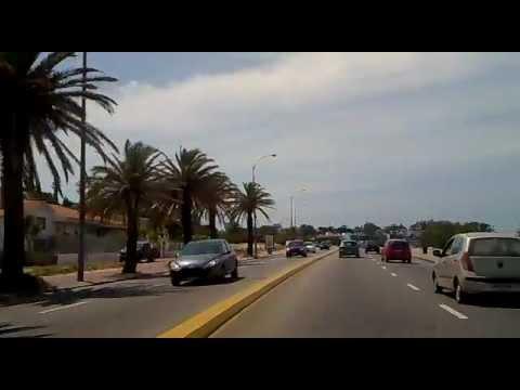 uruguay montevideo paseo desde  rambla a lagomar