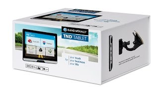 Rand McNally Android tablet TNDT80 *(ROOT)* review HD 60FPS
