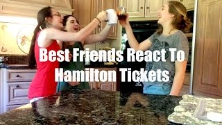 Hamilton tickets go on sale Chelsea hits the streets to find out what theatre majors would do for tickets to Hamilton.