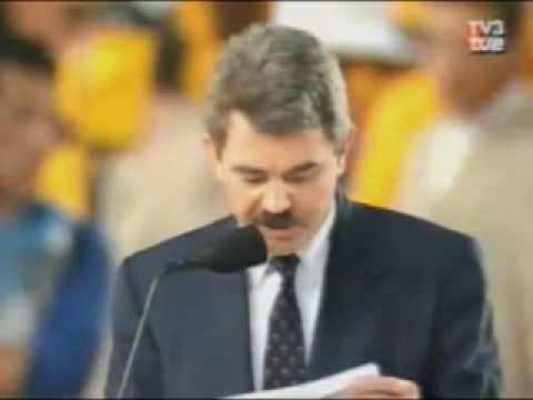 Barcelona 1992 Opening Ceremony - Official Speeches