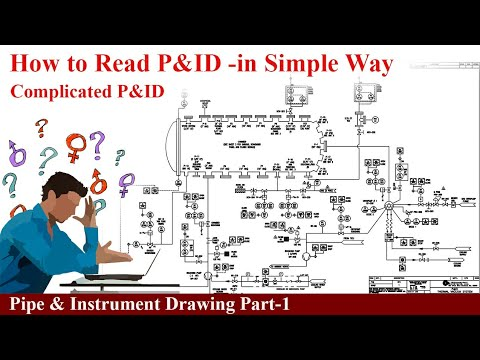 How to read pid(pipe  instrument drawings) - YouTube