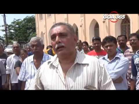 Desterro parishioners in Vasco object to new demarcation of church property