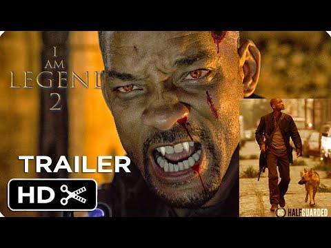 Reaction on I am legend 2 movie 2022 trailer, horror movie