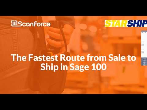 Sage 100 Shipping Software: The Fastest Route from Sale to Ship