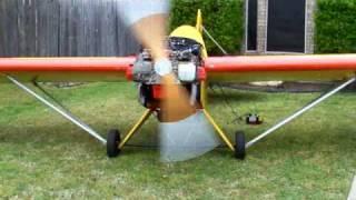 Repeat youtube video Subaru powered minimax aircraft engine run