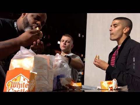 Irish Guys try White Castle for the First Time!