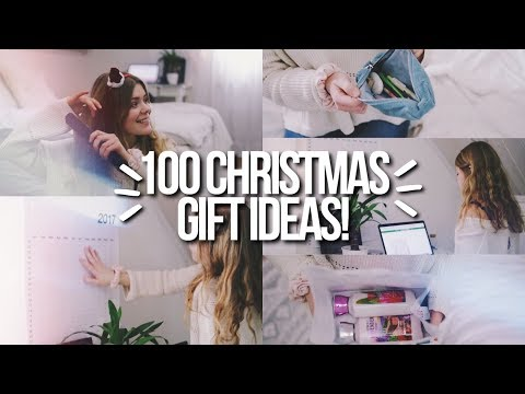 100 CHRISTMAS GIFT IDEAS 2017! last minute teen gift guide