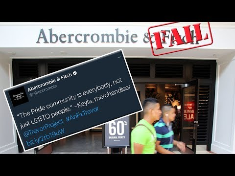 Abercrombie & Fitchs Pride FAIL