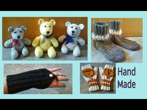 Teddys, Mütze, Pantoffeln, Armstulpen Handschuhe  * Julebuergerfee