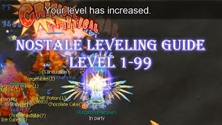 Nostale | Leveling Guide Levels 1-99 Fast(ish)!