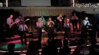"""The Wee Jams perform """"Shama Lama Ding Dong"""" at the Palisades Ballro..."""