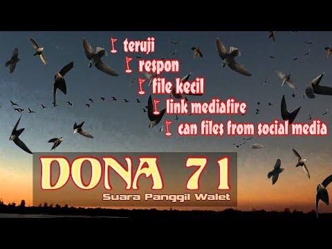 Suara Panggil Walet Paling Dicari SP DONA-71