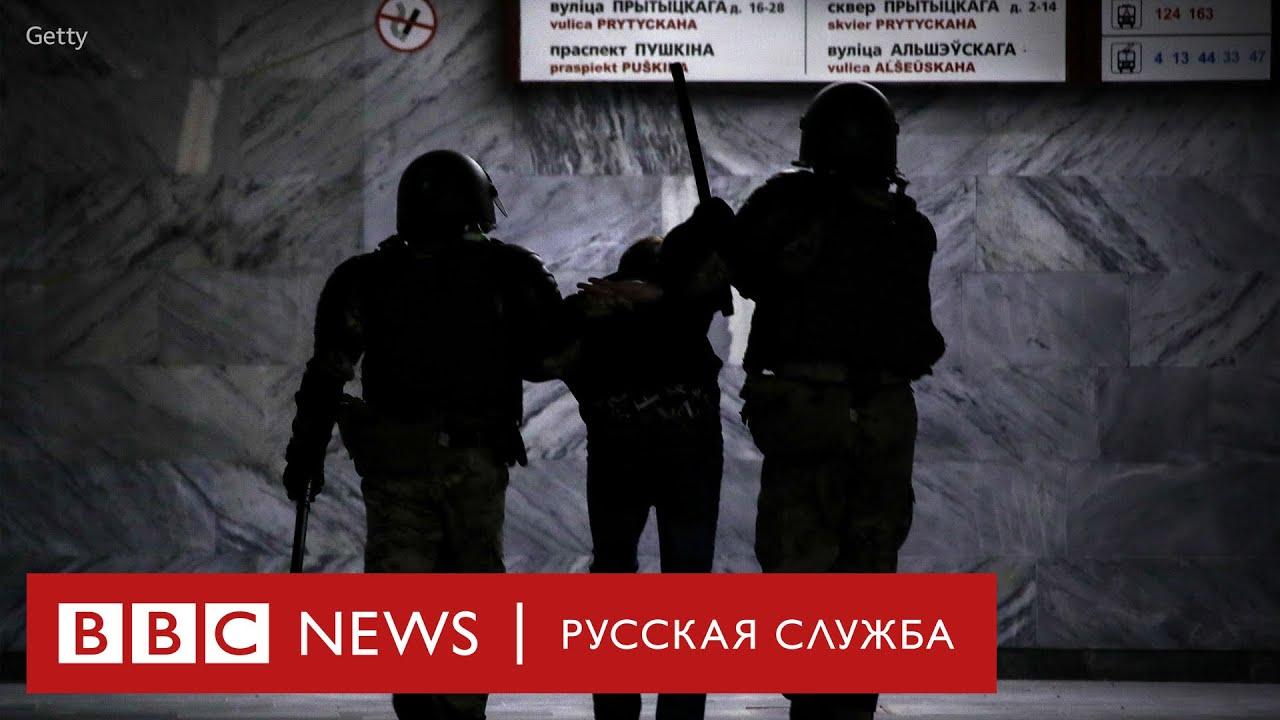 Взрывы, лазеры, задержания: третья ночь протестов в Беларуси