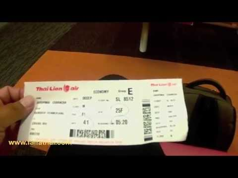 thai laion air bangkok to chiang mai บินไปเชียงใหม่กับ ไทยไลอ้อนแอร์