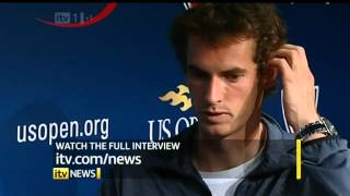 ITV News report on Andy Murray winning the US open - 11th Sept 2012