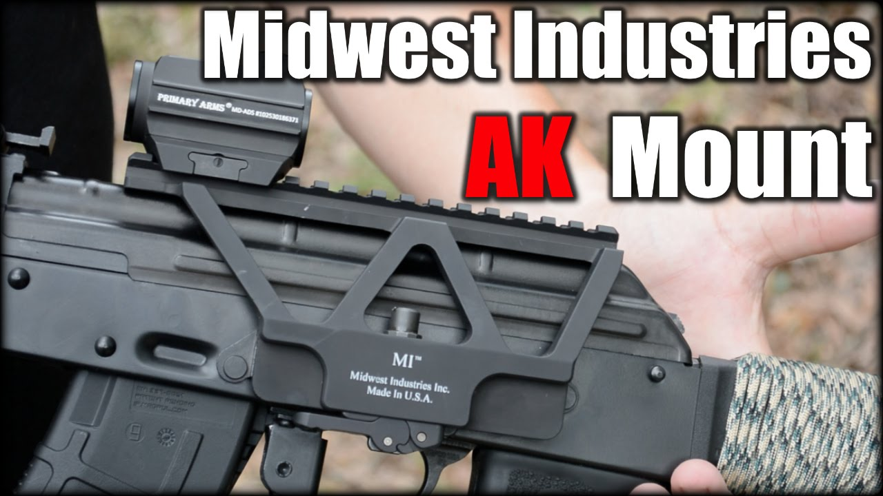Midwest Industries AK Railed Scope Mount| First Impressions
