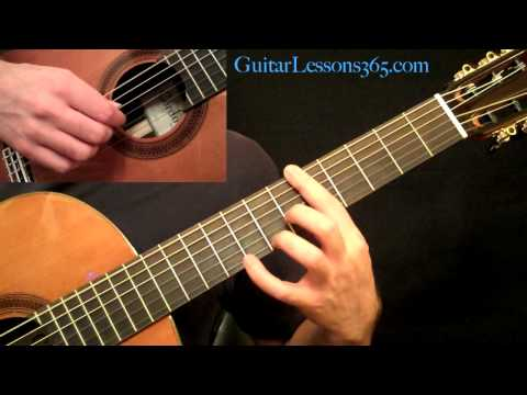 Romance - Acoustic Fingerstyle Guitar Lesson Pt.1 Romanza