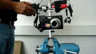 Aerial camera mount